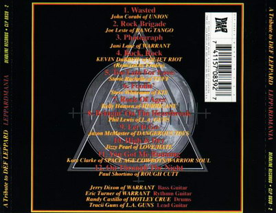 Альбом A Tribute to Leppardmania: A Tribute To Def Leppard (2000) Скачать или Слушать Онлайн  (Download Judas Priest - A Tribute to Leppardmania: A Tribute To Def Leppard 2000 mp3)