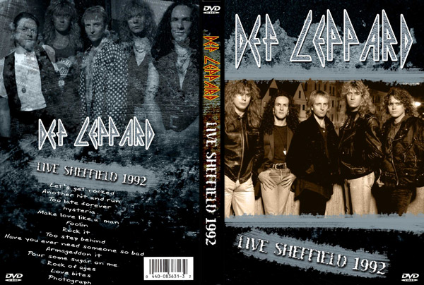 Видео концерт Def Leppard - Live Sheffield VHS DVD (1992) Скачать или Смотреть Онлайн  (Download video Def Leppard - Live Sheffield VHS DVD 1992)