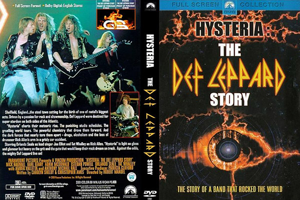 Фильм о группе Def Leppard - Истерия История Дэф Леппард  Hysteria The Def Leppard Story DVD (2001) Скачать или Смотреть Онлайн  (Download video Def Leppard - Hysteria The Def Leppard Story DVD 2001)