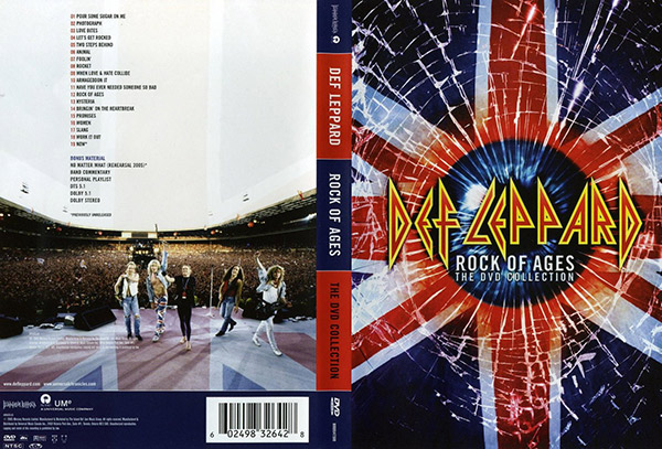 Видео концерт Def Leppard - Rock Of Ages The DVD Collection DVD (2005) Скачать или Смотреть Онлайн  (Download video Def Leppard - Rock Of Ages The DVD Collection DVD 2005)